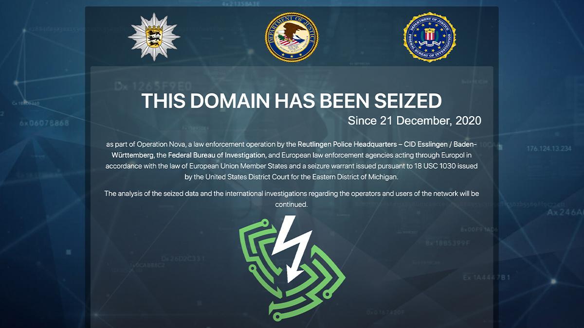 Der Safe-Inet-VPN-Dienst wurde am 21. Dezember von den Strafverfolgungsbehörden entfernt