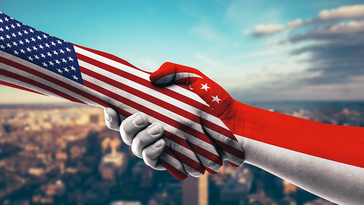 The US and Singapore have signed an agreement to enhance cooperation and knowledge sharing about cyber threats targeting financial agencies