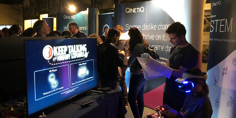 QinetiQ hosted a crossover esports and cybersecurity skills event in London yesterday