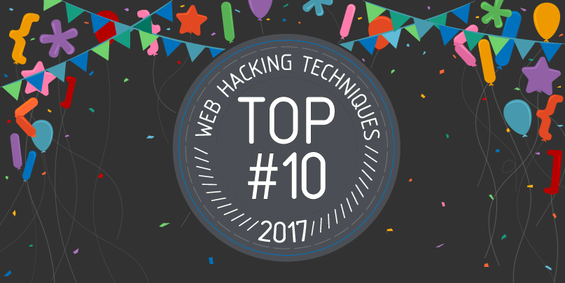 Top 10 Web Hacking Techniques of 2017 | Blog - PortSwigger