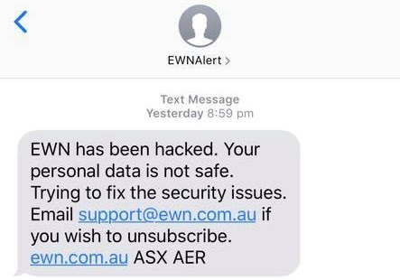 Australia's emergency warning system hacked to deliver flood of