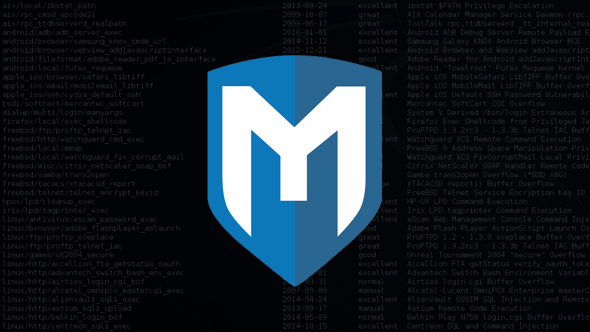 HDMoore founded the Metasploit Project