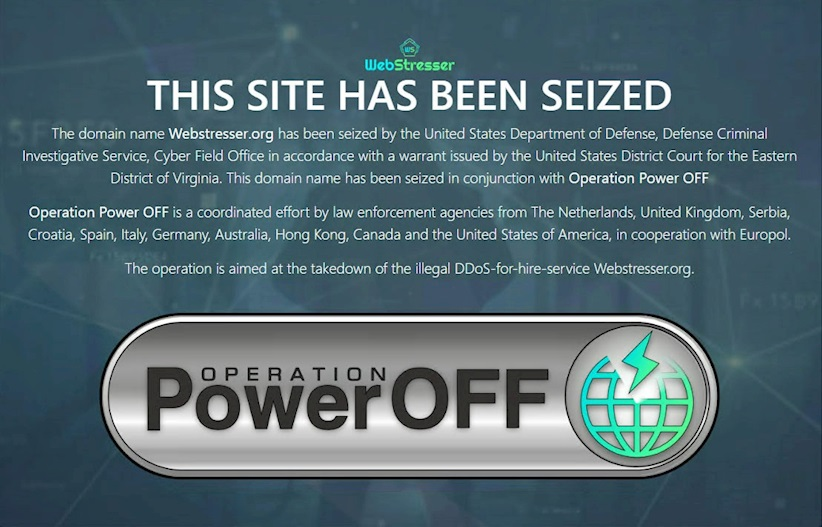 DDoS-for-hire site taken down in global investigation | The Daily Swig