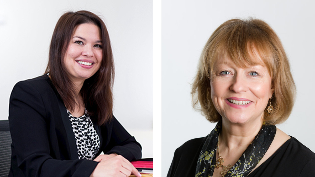 Nina Paine, global head of cyber stakeholder and government engagement at Standard Chartered, and Amanda Finch, CEO of CIISec