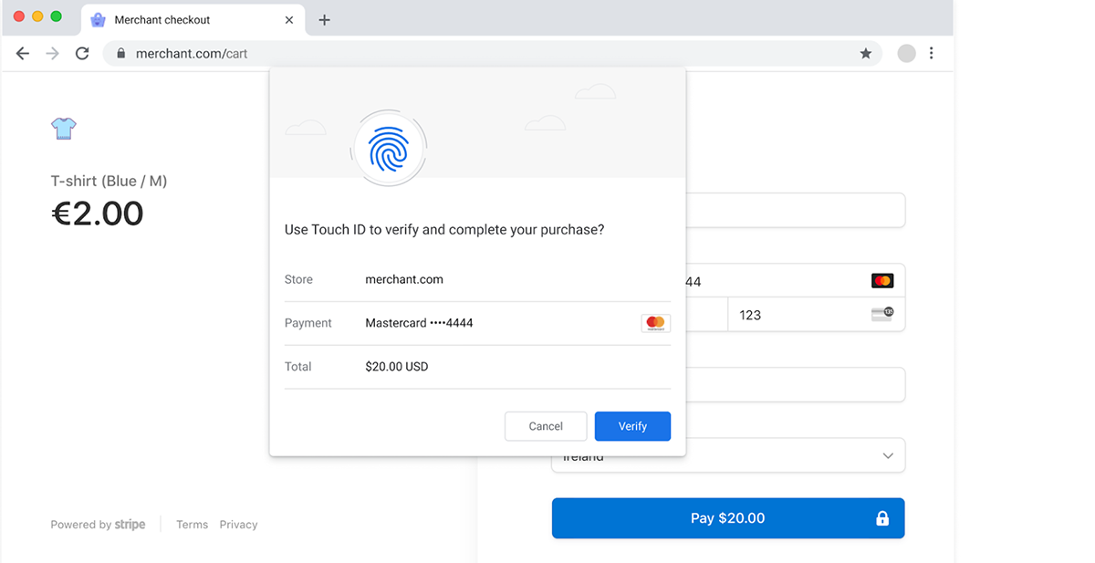 Payment confirmation technology debuting in Google Chrome uses FIDO-based authentication