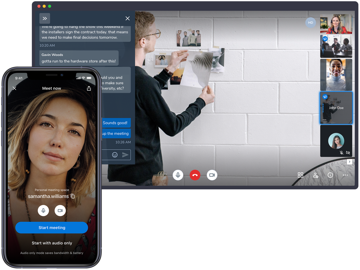 Jitsi Meet is a video conferencing app