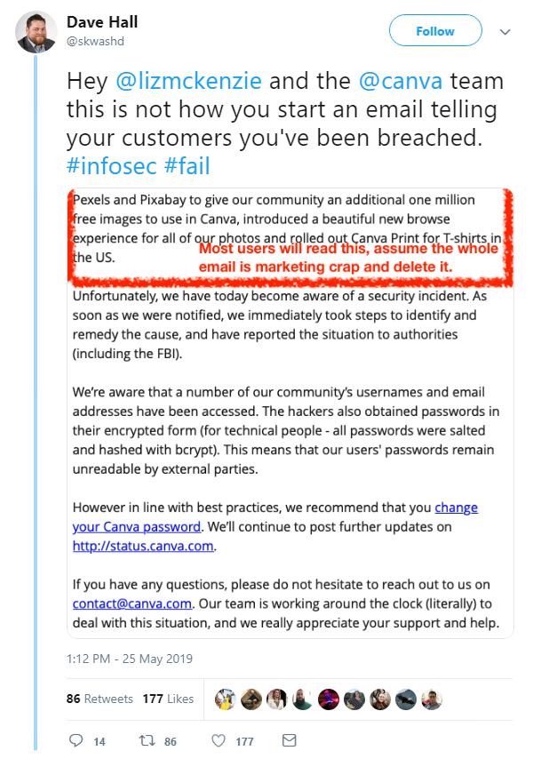 Canva 'working around the clock' to investigate data breach