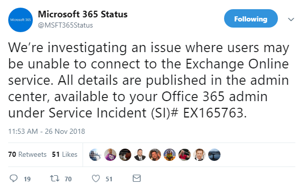 Microsoft working to fix outage impacting Office 365 users | The