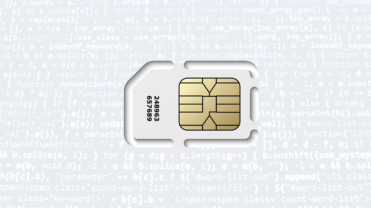 SIM swap attacks are also known as SIM-jacking