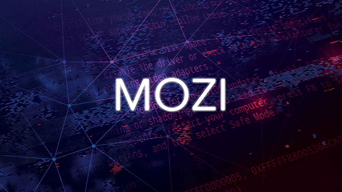 Microsoft researchers warn that the Mozi malware modified to present a more potent threat to industrial control systems