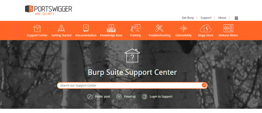 Burp Suite Support Center