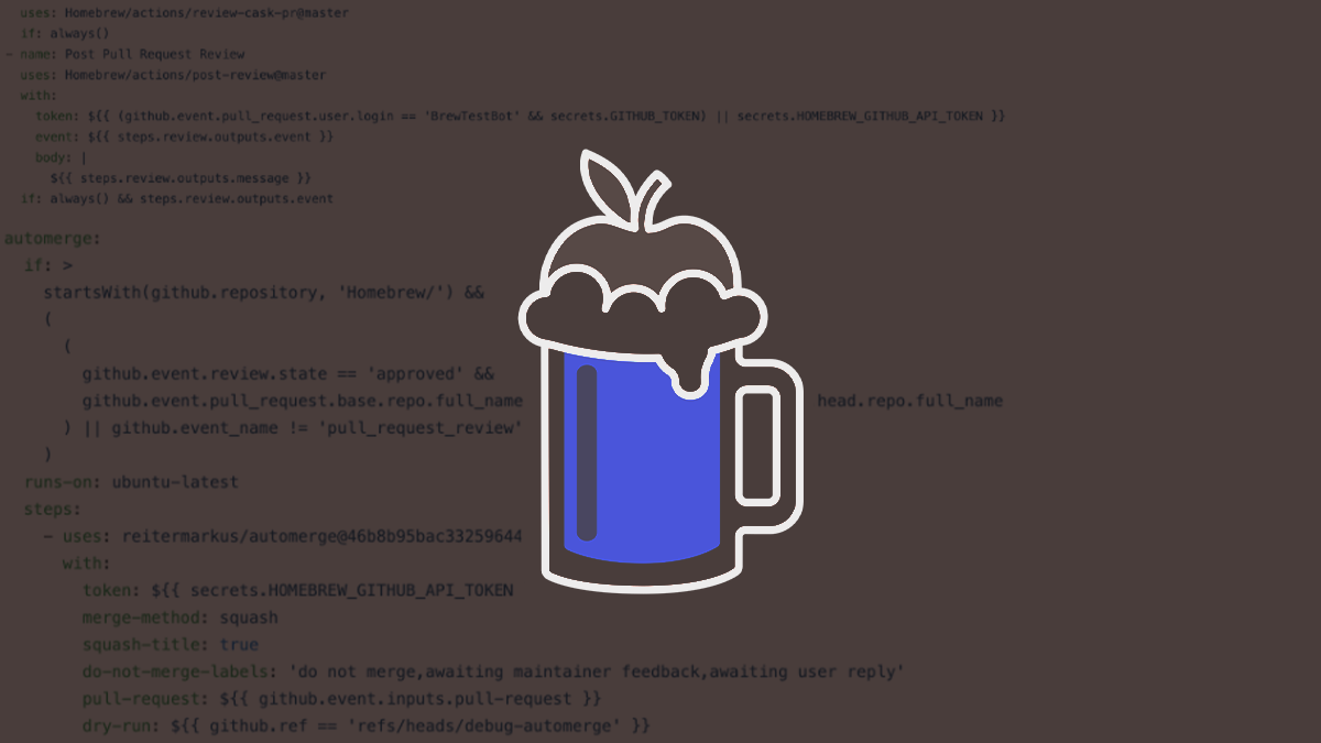 Vulnerability in Homebrew macOS package manager could allow arbitary code execution