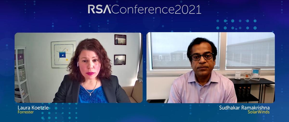 Laura Koetzle interviews SolarWinds CEO Sudhakar Ramakrishna about the high-profile attack