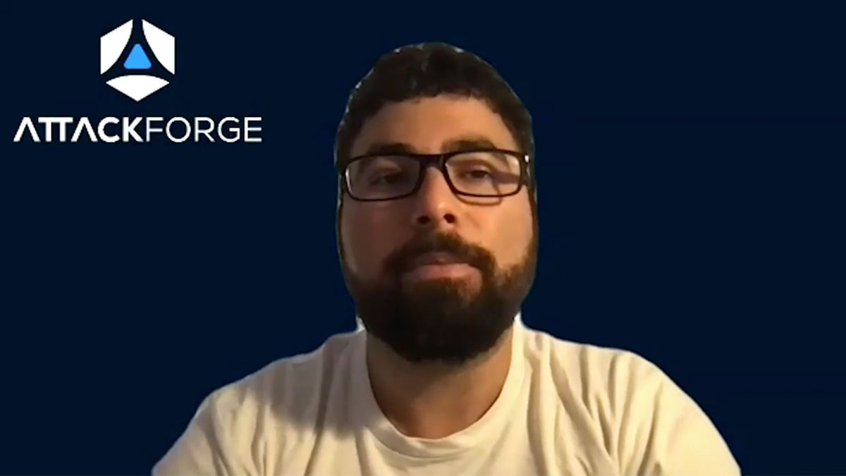 Fil Filiposki offered an overview of AttackForge at Black Hat Europe 2020