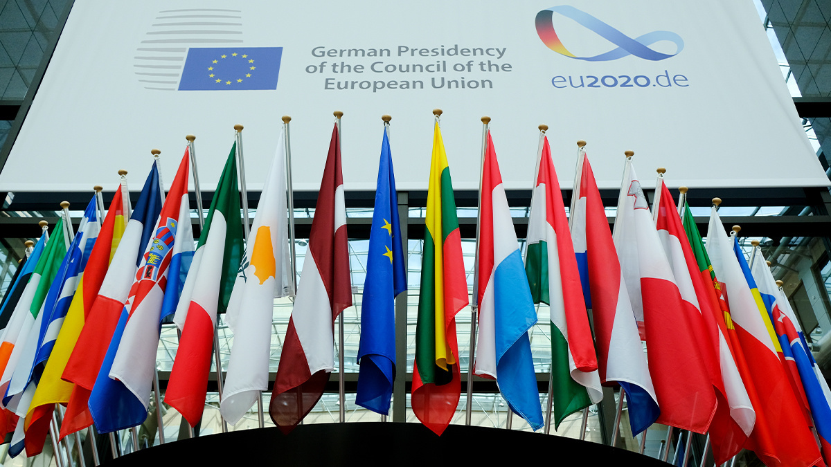 Germany's EU presidency started in July 2020, with a focus on cybersecurity