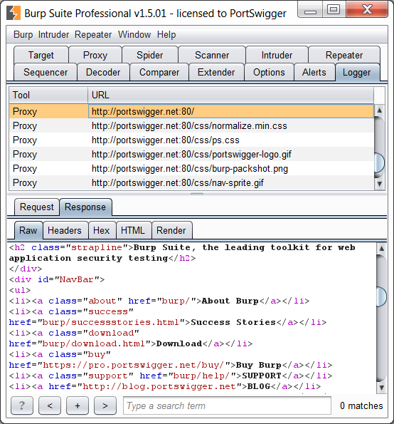 Sample Burp Suite extension: custom logger | Blog - PortSwigger