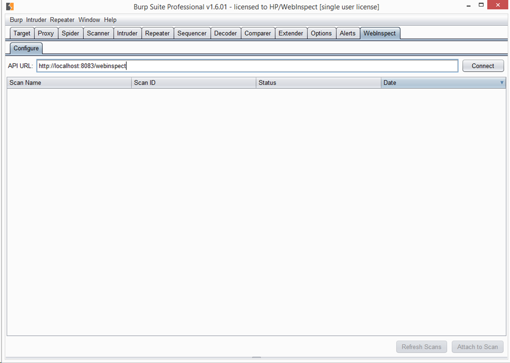 Burp integrates with WebInspect | Blog - PortSwigger
